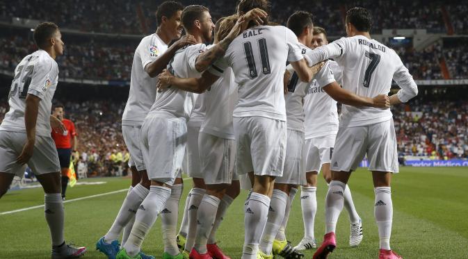 Madrid Gilas Real Betis 5-1