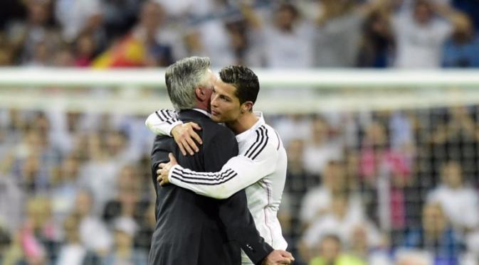 Ancelotti Meyakini Ronaldo kembali mengungguli Messi dalam perburuan top scorer