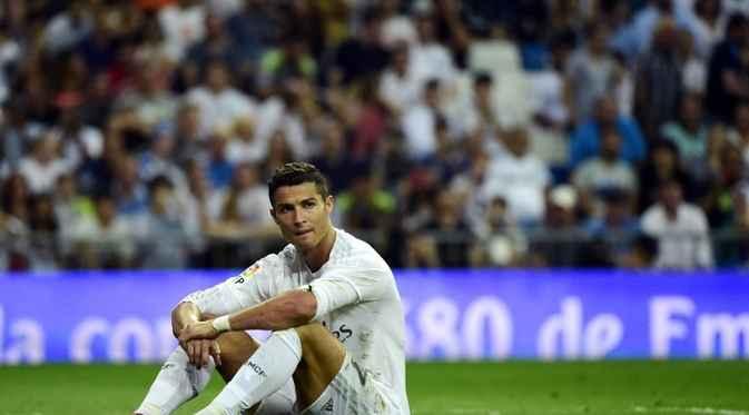 Sejauh ini Ronaldo 'Mandul' dalam tiga laga terakhir.