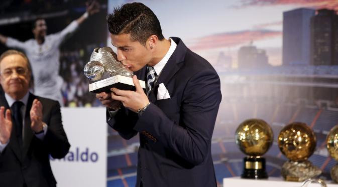 Cristiano Ronaldo Mengaku tak Menyangka Menjadi Top Scorer di Rela Madrid